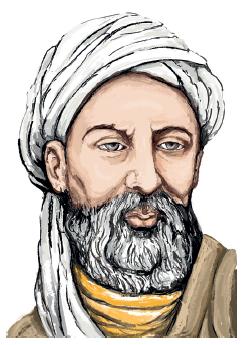 İbn Sina, temsilî resmi (980- 1037)