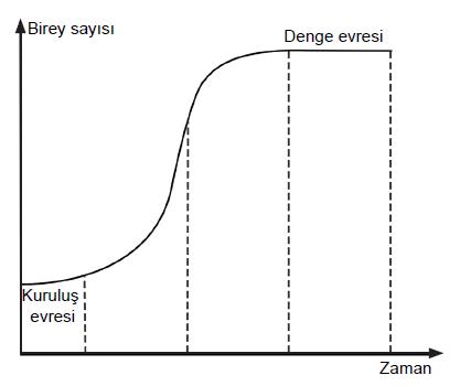 Popülasyonlarda S Tipi Büyüme Eğrisi