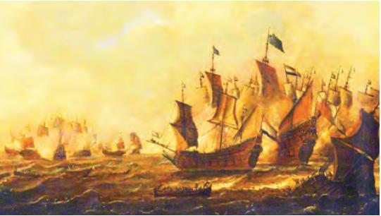İngiltere-Hollanda Deniz Savaşları (Tablo)