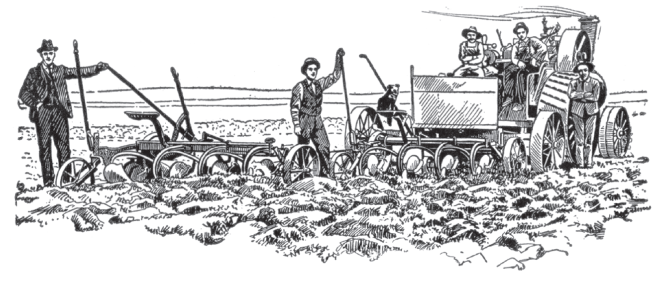 Toprağın makinelerle işlenmesi